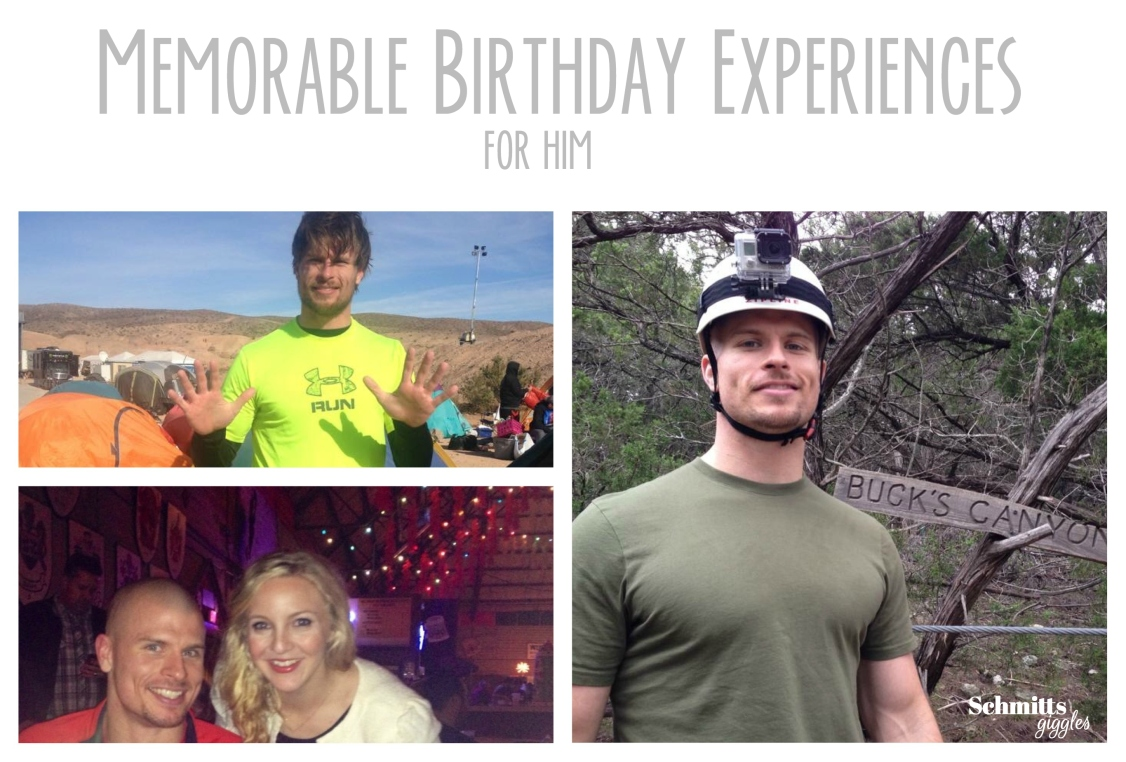 Memorable Birthday Experiences for Him